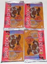 1993/94 Upper Deck NBA Series 2 4-Pack Retail Lot - Brand New & Sealed from Box
