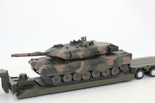 Siku 8612 MAN WITH LOW LOADER militärtransporter with Tank 1:50 NEW BOXED