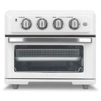 Cuisinart 1800W 0.6 Cu. Ft. Electric Air Fryer Toaster Oven - White