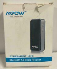 Mpow Streambot Mini Bluetooth 4.0 Ricevitore Musicale (Nuova Versione)