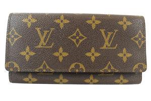 LOUIS VUITTON Bill Compartment purse monogram M61820