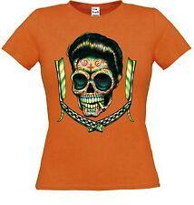 Rockabilly Damen-T-Shirts mit Rundhals