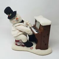 HALLMARK 2005 JINGLE PALS PIANO SNOWMAN LIGHTS AND MOTION ONLY, NO MOVEMENT