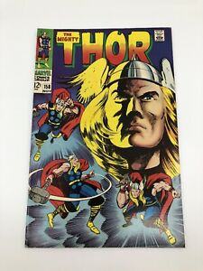 The Mighty Thor Marvel Comic #158 Nov 1968