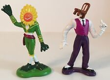 """THE TICK 3"""" Figures Lot of 2: Chairface Chippendale + El Seed 1994 Bandai Loose"""