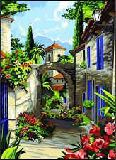 SEG de Paris Tapicería/lienzo encaje de aguja – Pasaje en Provence