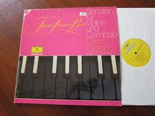 DAVID OISTRACH Hans Pischner Bach Sonaten Deutsche Grammophon double