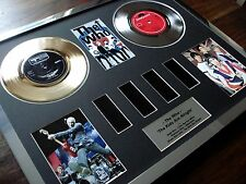 """THE WHO 7"""" SINGLE GOLD PLATINUM DISC RECORD & FILM CELL AWARD DISPLAY MONTAGE"""