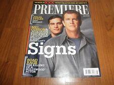 "JOAQUIN PHOENIX _Premiere Magazine-""Signs""Mint Magazine"