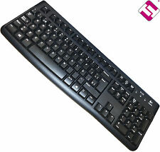 KEYBOARD BLACK WITH CABLE USB LOGITECH K120 SPANISH WITH Ñ PC K 120 920-002518R