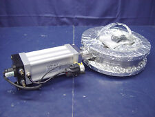 Huntington Butterfly Pneumatic Valve A00-1579 & Turn-Act Rotary Actuator