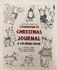Countdown to Christmas Journal & Coloring Book Cooking Poetry Games Advent New