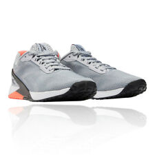 Reebok Mens Nano X1 GRIT Training Gym Fitness Shoes Trainers Sneakers Grey