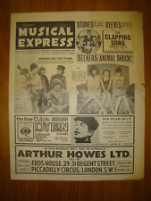 NME #956 1965 MAY 7 BEATLES FILM STONES ANIMALS DYLAN