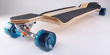 """Drop Down 40"""" x 9"""" Canadian maple longboard skateboard"""