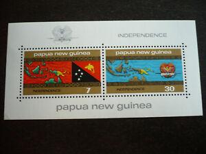 Stamps - Papua New Guinea - Scott# 424a - Souvenir Sheet