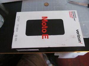 Verizon MOTO E Prepaid Smart Phone Midnight Blue Sealed NEW