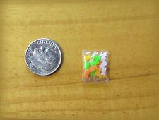Dollhouse Miniature Small bag of Gummy Bears by Lola Originals