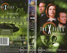 THE X FILES - EXISTENCE - VHS -PAL -N&S -Never played -Original Oz release