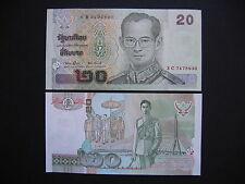 THAILAND  20 Baht 2002  (P109)  UNC