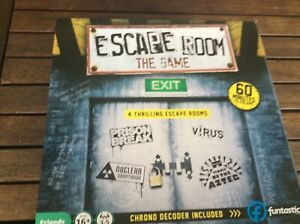 ESCAPE ROOM THE GAME.4 GAMES IN 1 FUNTASTIC