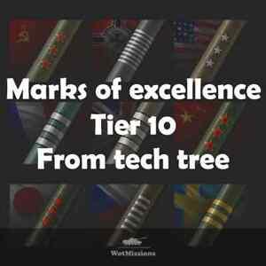World of tanks | 3rd Mark of excellence Any Tier 10 tech tree Tank | EU/NA/RU