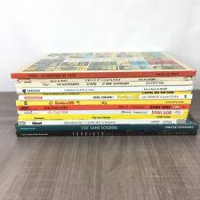 Lot 13 BD Divers / Tintin Astérix et Obélix Les Schtroumpfs / Etat Correct