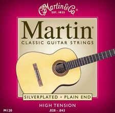 Martin M120 Classical strings 28-43, High Tension, Plain end