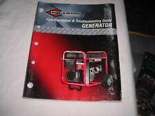 Briggs Amp Stratton Portable Generator Troubleshooting Guide