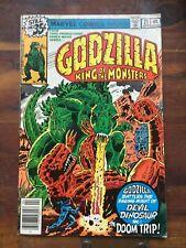 GODZILLA  KING OF THE MONSTERS #21 Marvel Comics (1979) Devil Dinosaur!