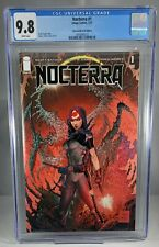 Nocterra #1 CGC 9.8 1st Print Edition Tony S Daniel Glow in the Dark Cover