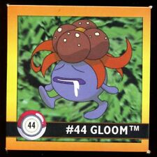 POKEMON STICKER ENGLISH CARD 50X50 1998 NORMAL N°   44 GLOOM ORTIDE