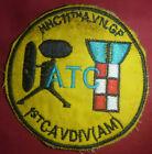 AIR TRAFFIC CONTROL - Patch - AN KHE - US 1st CAVALRY - Vietnam War - 3939