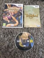 Nintendo Wii game - Disney Tangled + Instructions