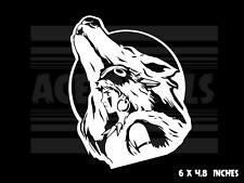 Princess Mononoke  - San Wolf Howling  - Ghibli - Anime - Vinyl decal sticker