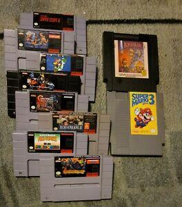 Joshua The Battle of Jericho  Super Ghoulish & Ghost , Mario Allstar Mario 3 lot