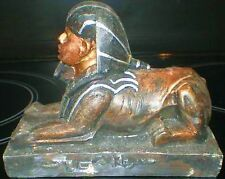 Latex Craft Mould EGYPTIAN SPHINX Reusable Art & Crafts Hobby