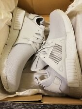 adidas Men's NMD XR1 Triple White Size 12.5 Deadstock