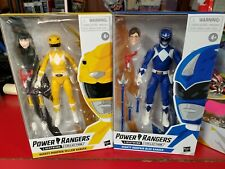 Hasbro Lightning Collection Mighty Morphin Power Rangers Blue and Yellow figures