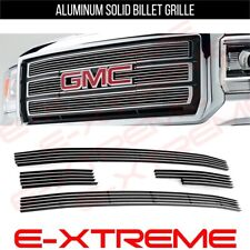 BILLET GRILLE GRILL FOR GMC SIERRA 1500 2014-15 UPPER 4pcs OVERLAY