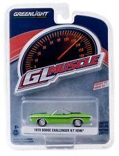 1:64 GreenLight *GL MUSCLE R23* GREEN 1970 Dodge Challenger R/T HEMI NIP