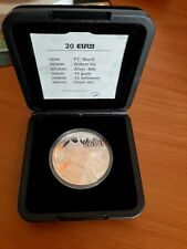 NETHERLANDS SILVER COIN 20 EURO P.C. HOOFT in cassette + coa PROOF