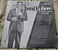 The Booty Wood All Stars - Hang in There LP private press jazz (MJR) Strong VG+