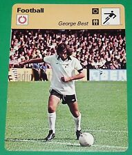 FOOTBALL FIRST DIVISION ENGLAND GEORGE BEST 1976 FULHAM MANCHESTER UNITED