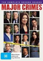 Major Crimes The Complete Second Season Two 2 DVD NEW Region 4