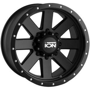 "Ion 134 20x9 8x6.5"" +0mm Matte Black Wheel Rim 20"" Inch"