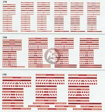 Verlinden 1/72 1/48 1/32 Aircraft Remove Before Flight and Warning Flags 578