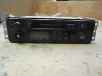 AM FM Radio Cassette Player Unit 96160-24100 Fits Hyundai Excel 1990 - 1994 #2