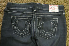 TRUE RELIGION ROCKSTAR GINA Sample Jeans 26X33 NWOT$294 Distressed! USA! Stretch