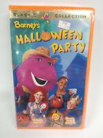 Barney's Halloween Party VHS Tape 1998 50 Minutes Classic Collection